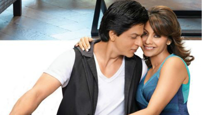 Shah Rukh Khan and Gauri Khan (Courtesy: Twitter/@0Learnergerman0 )