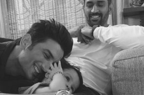 The little one, Ziva turns a year older, she is 2 now and Sushant Singh Rajput wishes her.