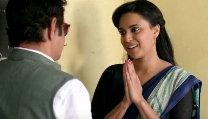 Swara Bhaskar (Courtesy: YouTube/Promodome Motion Pictures)