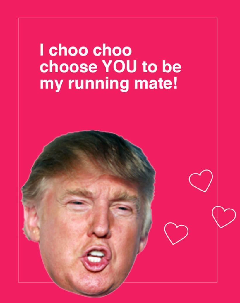 Trump Birthday Ecard Funny Donald Card