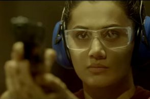 Taapsee Pannu in a still from the trailer (Courtesy: YouTube/Reliance Entertainment)
