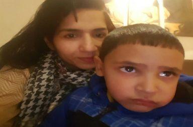 Pakistani boy at Wagha Border (Photo: ANI/ Twitter)