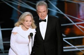Warren Beatty and Faye Dunaway (Courtesy: Twitter/@Variety )