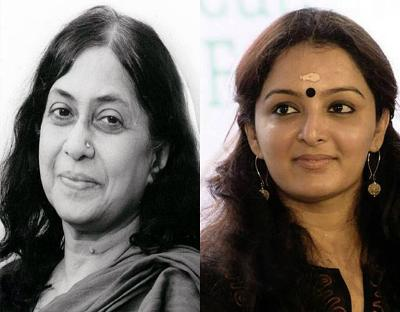 Manju warrier and Kamla Surrya