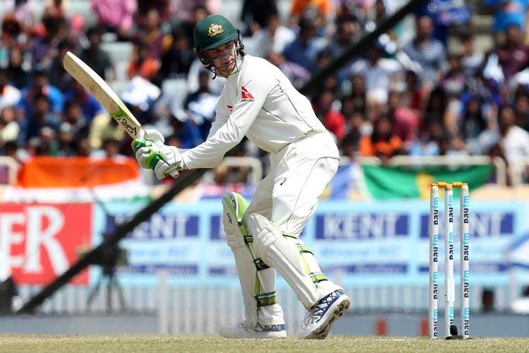 India vs Australia Ranchi Test tea report: Handscomb, Marsh's grit ensure draw is the onlypossibilty