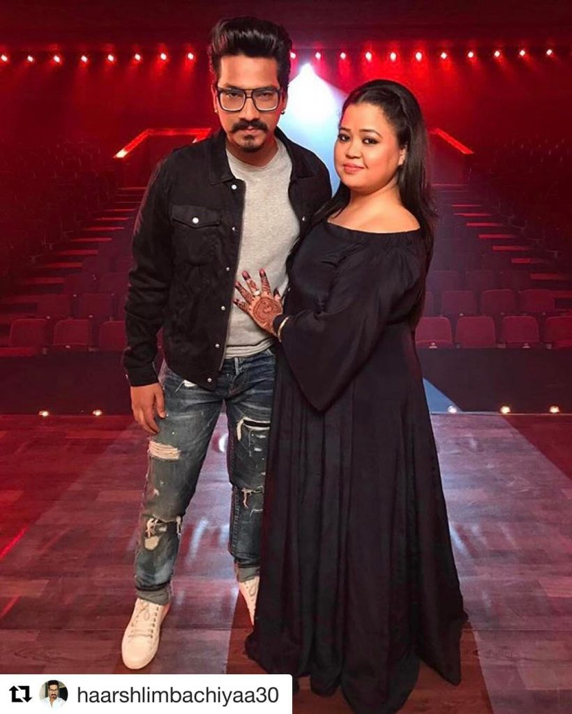 Bharti Singh and Harsh Limbachiyaa participate in Nach Baliye