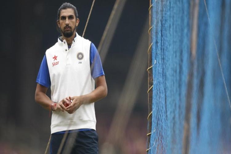 Watch! Ishant Sharma hits 'bulls eye' duringpreps