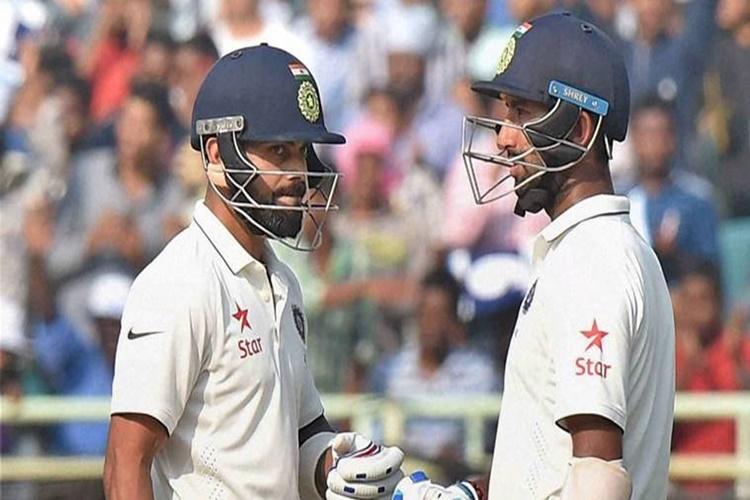ICC Test rankings: Cheteshwar Pujara replaces Virat Kohli to become No. 2, Steven Smith increaseslead