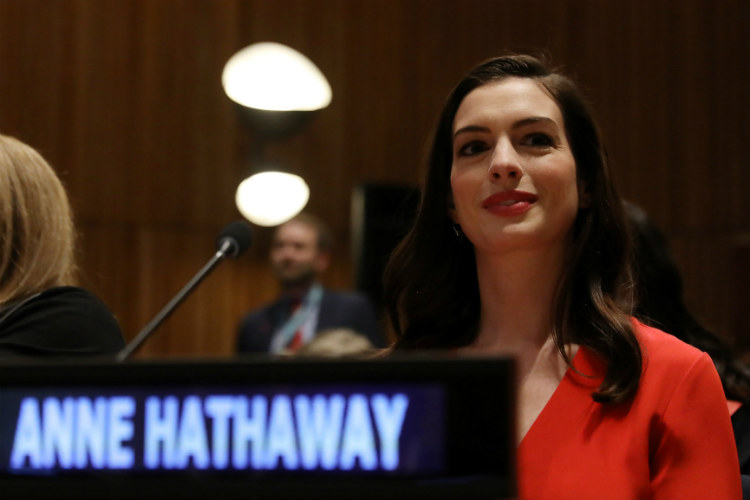 Anne Hathaway United Nations