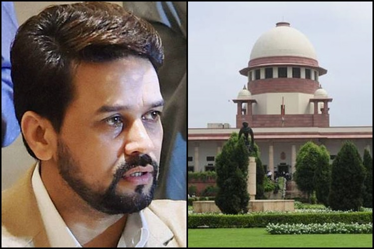 Former BCCI boss Anurag Thakur tenders unconditional apology to Supreme Court