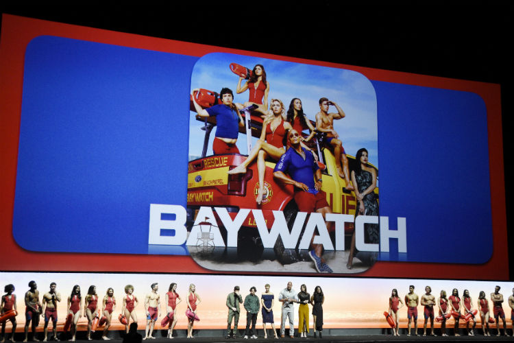 Baywatch Priyanka Chopra Cinema Con | AP Image for InUth.com