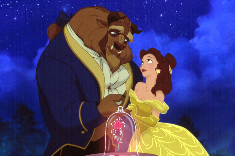 Beauty and the Beast 1991 animated movie | Image for InUth.com