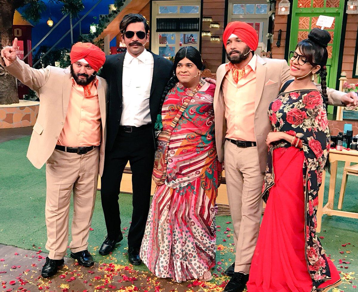 Kapil Sharma, Sunil Grover, Ali Asgar, Chandan Prabhakar