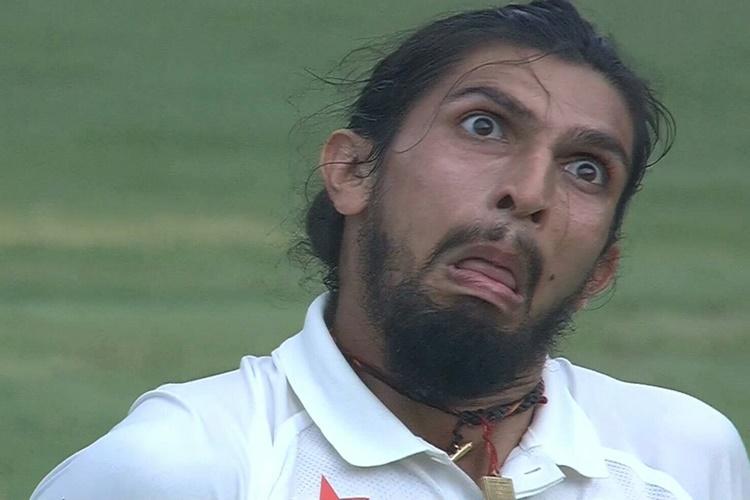 India Vs Australia >> Watch: Virat Kohli bursts out laughing on-field as Ishant