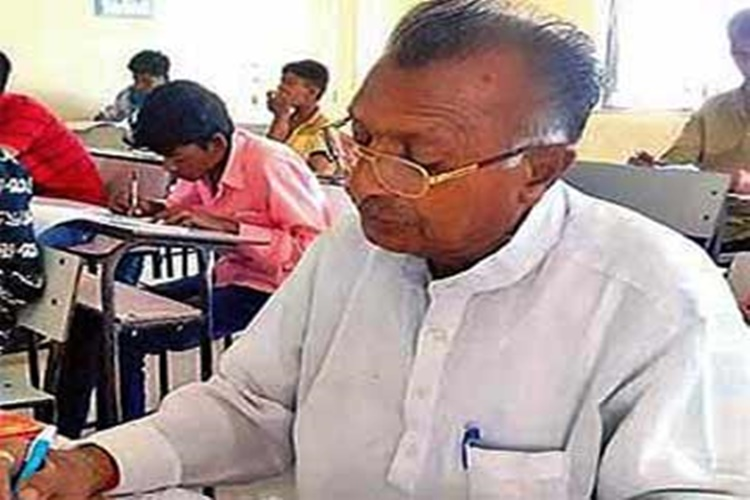 Meet 70-year-old Parbat Makwana, oldest person appearing for class 10 board exams in Gujarat