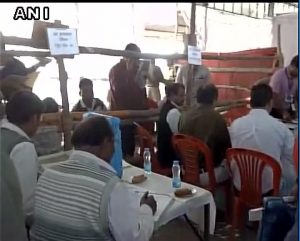Counting underway in 78 centres across 75 districts of Uttar Pradesh. (PIC ANI)