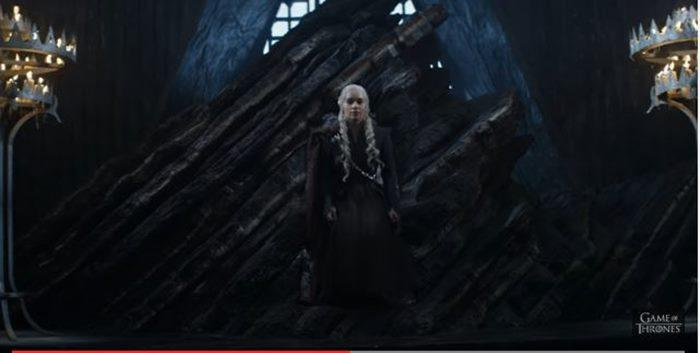 The last time we saw Daenerys, she was sailing alongside Lord Varys to King's Landing