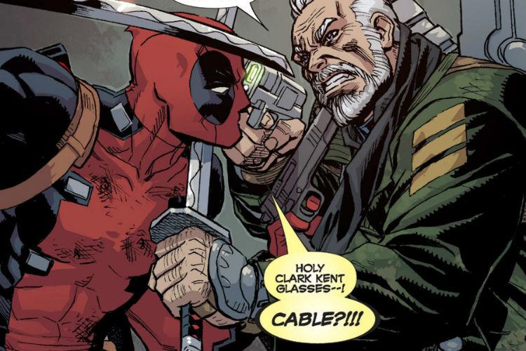 Deadpool Cable Marvel Comics