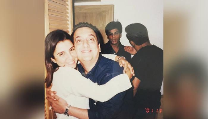 Farah Khan and Sajid Nadiadwala. (Courtesy: Instagram/Sajid Nadidawala)