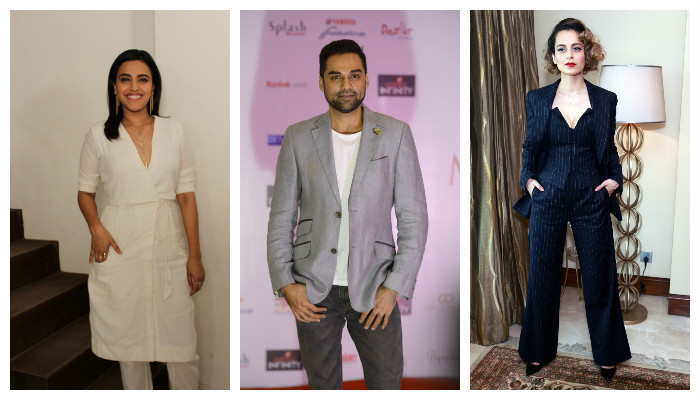 Abhay Deol supports Swara Bhaskar's views on nepotism, asks if she will get same attention as Kangana Ranaut