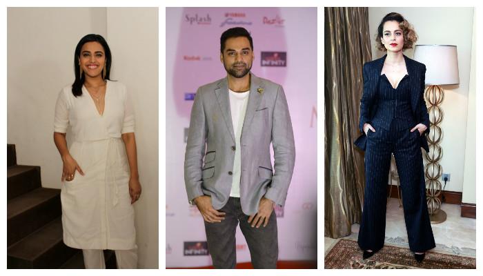 Kangana Ranaut, Abhay Deol and Swara Bhaskar