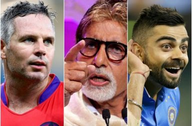 Brad Hodge, Amitabh Bachchan, Virat Kohli