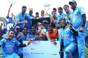 India's blind cricket team
