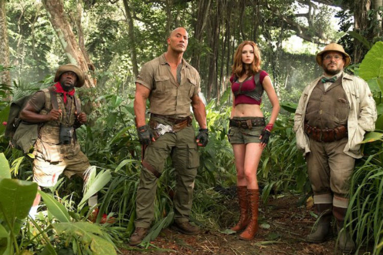 Jumanji Welcome to the Jungle Sequel Movie