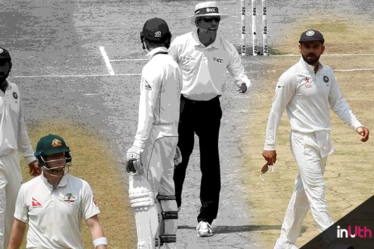 When Kohli got furious at Steven Smith in second Test