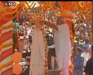 PM Narendra Modi pays tribute to Lal Bahadur Shastri (PIC ANI)