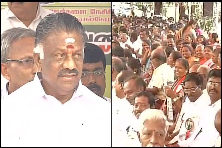 O Panneerselvam faction on day-long fast; seek probe into Jaya's death