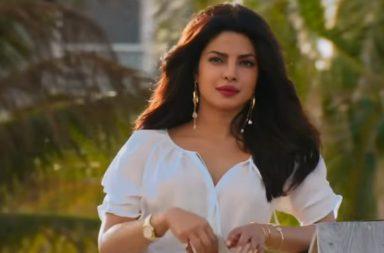 Priyanka Chopra in a still from Baywatch.