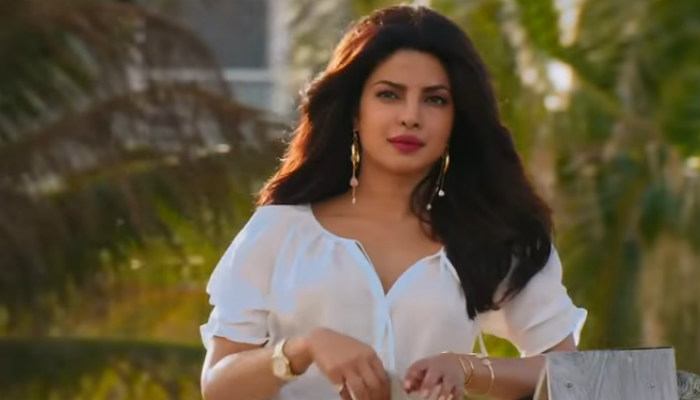 Priyanka Chopra in a still from Baywatch.