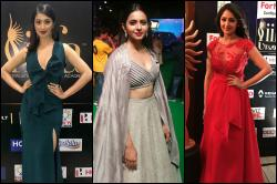 Photos: Raai Laxmi, Rakul Preet Singh and Sayesha Saigal sizzle at IIFA Utsavam 2017