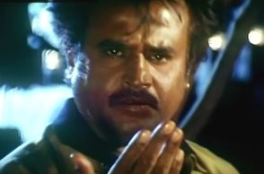 Rajinikanth in a still from Baasha