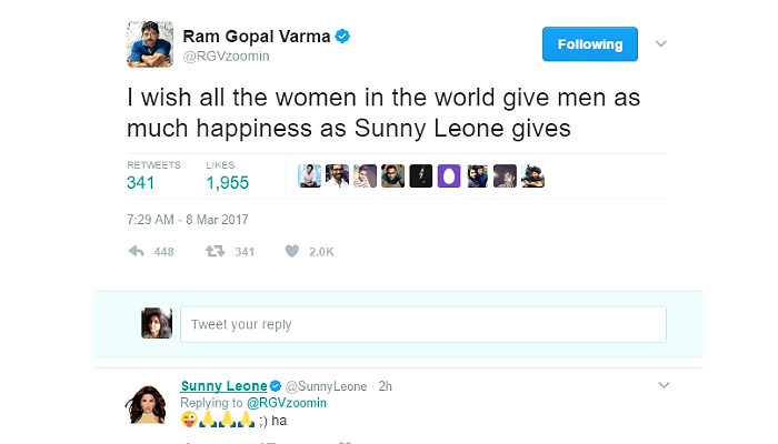 Complaint lodged against Ram Gopal Varma for International Women's Day tweet
