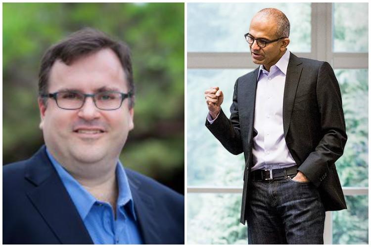 LinkedIn co-founder Reid Hoffman joins Microsoft's board