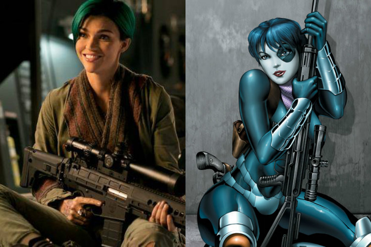 Ruby Rose Domino Deadpool 2   Image for InUth.com