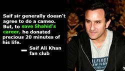Why Saif Ali Khan needs saving from his own fanclub