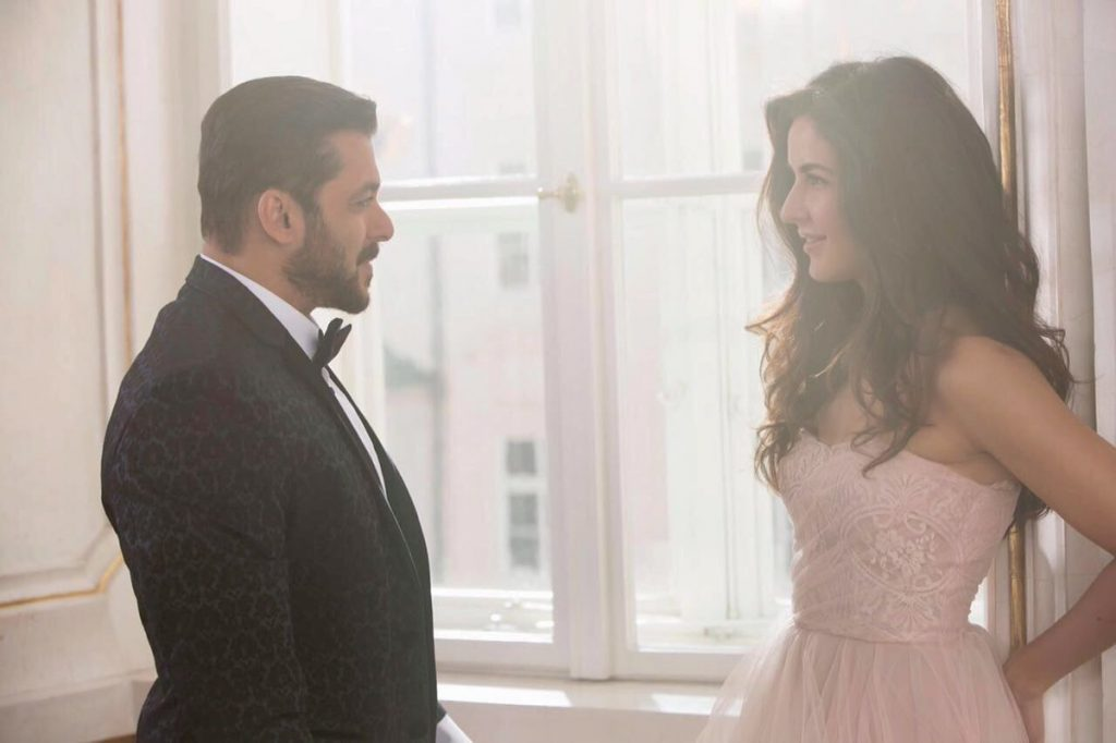 Salman Khan shared first look from Tiger Zinda Hai with Katrina Kaif