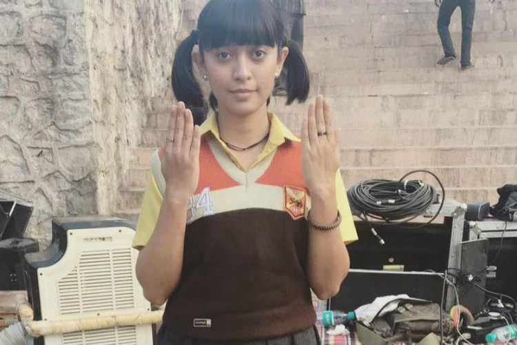 Sayani Gupta in a still from Jagga Jasoos