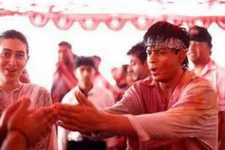 Shah Rukh Khan Holi | Image for InUth.com