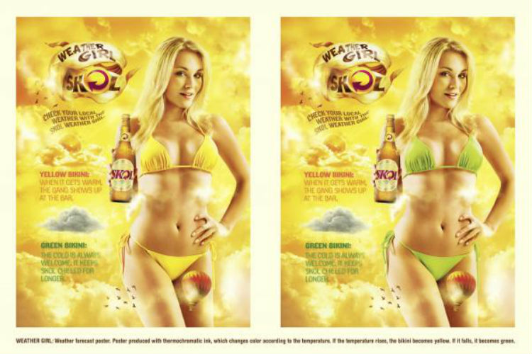 Skol Beer Sexist Advertisement | Image for InUth.com