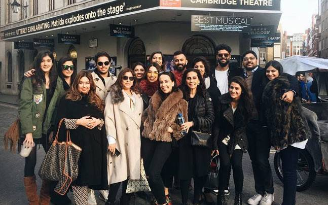 Kapoor Family (Photo: Instagram/Sunita Kapoor)