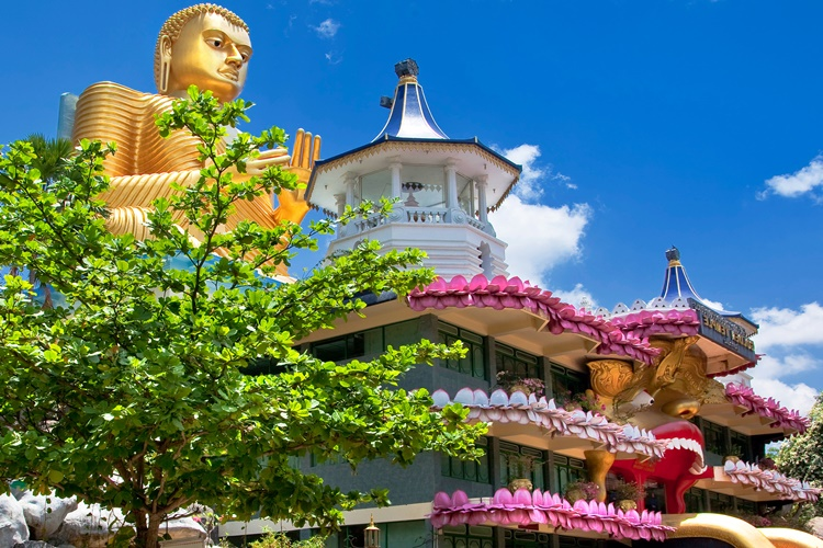Buddhist Temple in Dambulla, Sri Lanka