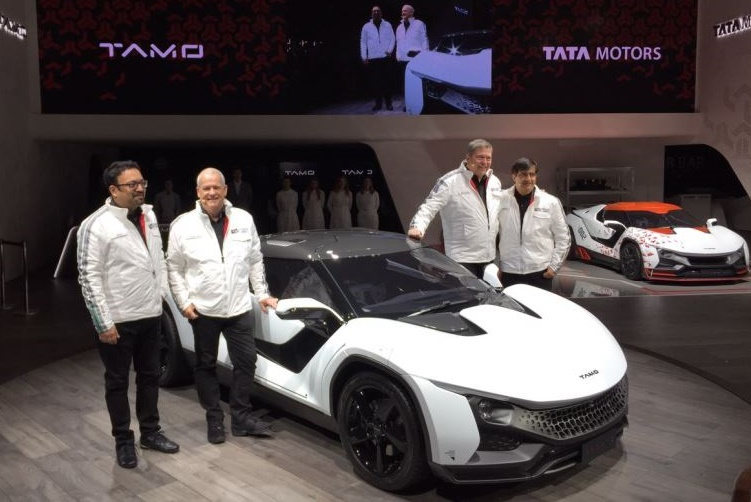 Tata's new sport car 'Tamo Racemo'