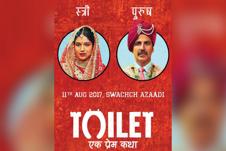 Akshay Kumar empties toilet pit with Minister DWS in MP