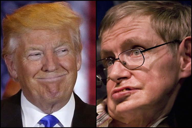 I fear I may not be welcome in US under Donald Trump, says StephenHawking