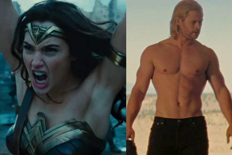 Fans bash Wonder Woman for shaved armpits. What about these male hairless superheroes?