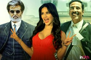 Rajinikanth, Sunny Leone and Akshay Kumar.